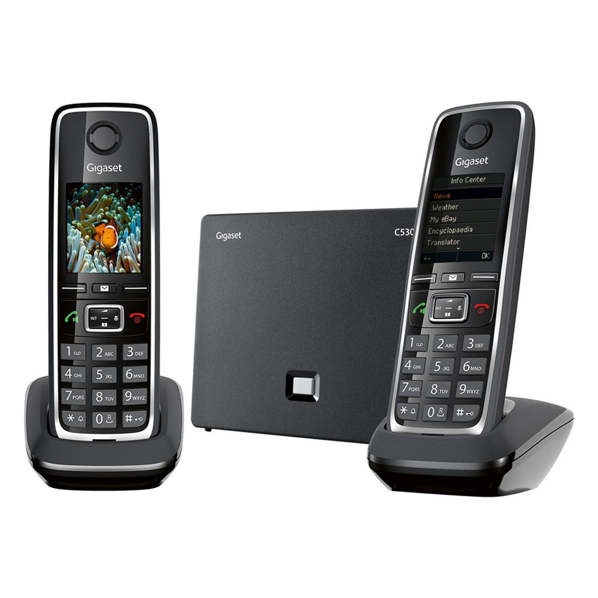 C530 IP Duo Black