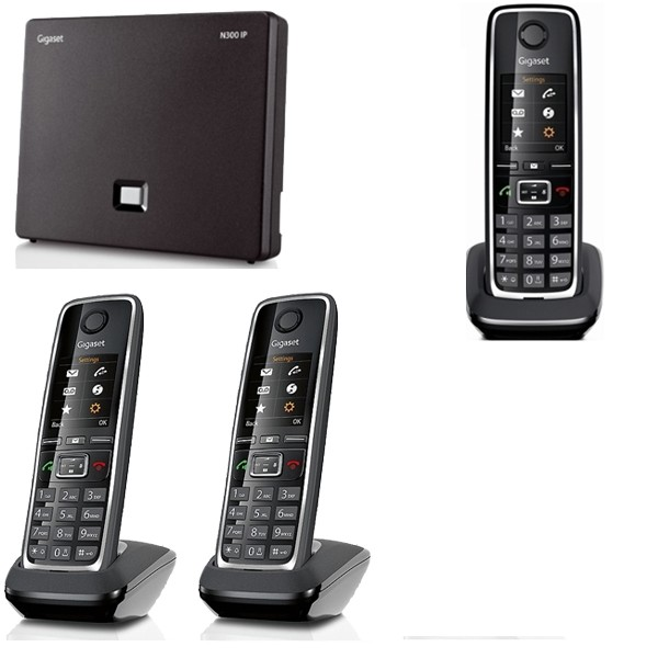 C530 IP Trio Black